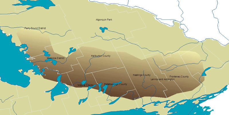The Land Between region